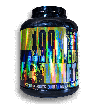100% Ripped Whey Pay de Mora