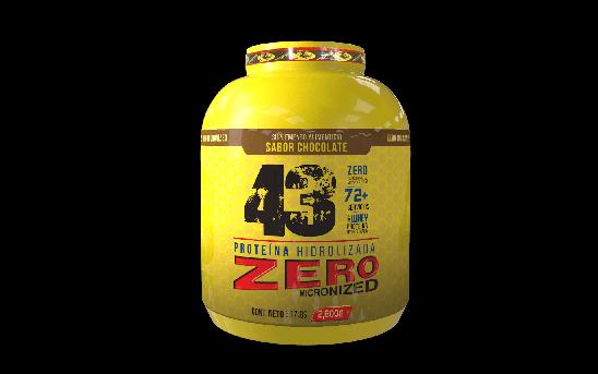 Proteina Hidrolizada Zero Chocolate 2.8Kg