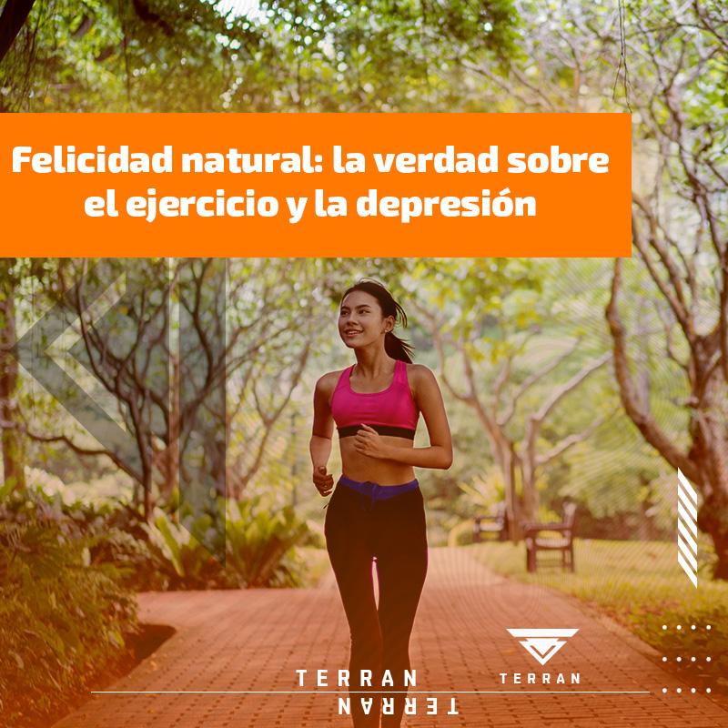 Felicidad natural: la verdad sobre el ejercicio y la depresión