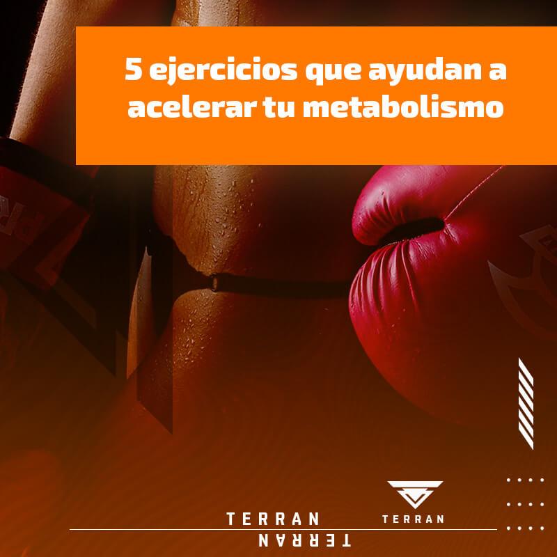5 ejercicios que ayudan a acelerar tu metabolismo