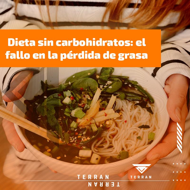 Dieta sin carbohidratos: el fallo en la pérdida de grasa