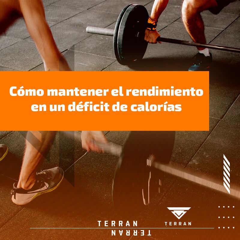 Cómo mantener el rendimiento en un déficit de calorías